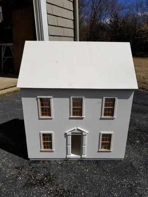 VINTAGE HANDCRAFTED WOODEN DOLL HOUSE for Sale in Concord, MA