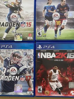 4 PlayStation 4 Sports Games for Sale in St. Louis,  MO
