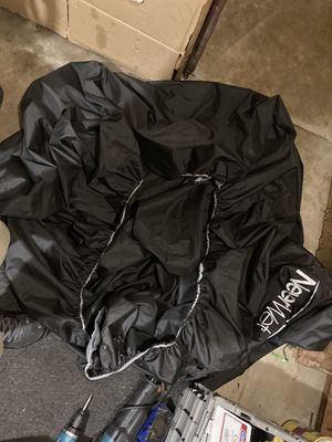 Motor bike cover never wet like new no holes nothing don't have bike anymore so I don't need it for Sale in St. Louis, MO
