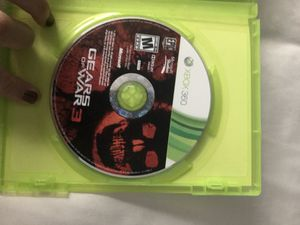 Xbox 360 gears of war 3 for Sale in San Diego, CA