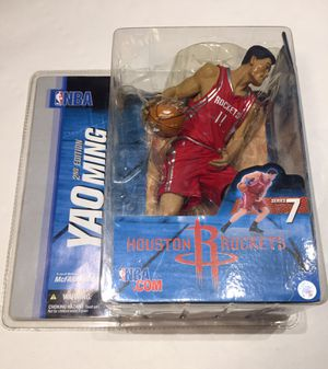 BRAND NEW, Yao Ming Houston Rockets Figure, NBA, Mcfarlane Toys, Perfect for Collectors for Sale in Concord, CA