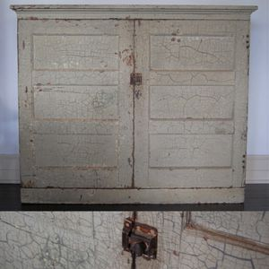 Vintage Primitive Chippy Farm Cabinet for Sale in Seattle, WA