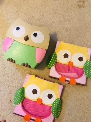 Circo brand Owl storage bins for Sale in Honolulu, HI
