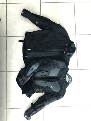 Motorcycle protective jacket combo size S for Sale in Miami, FL