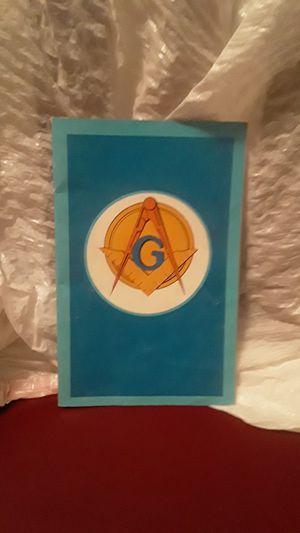 Freemasons pamphlet book for Sale in Roseville, CA