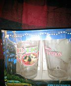National Lampoon's Christmas vacation glasses,(4) unused for Sale in Brown City, MI