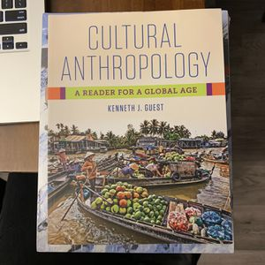 Cultural Anthropology A Reader For A Global Age for Sale in Fresno, CA