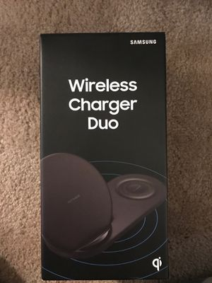 Samsung wireless charger duo for Sale in Seattle, WA