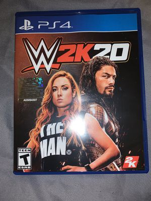 Wwe 2k20 ps4 for Sale in Spring Valley, CA