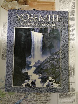 Yosimite : A National Treasure by Shirley Sargent Nature Book for Sale in Chula Vista, CA