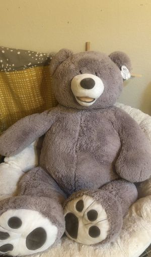 """53"""" Teddy bear with tag for Sale in Edgewood, WA"""