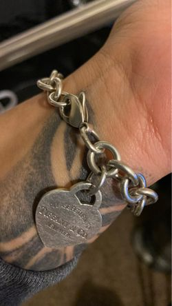 Tiffany 100% percent authentic bracelet for sale for Sale in March Air Reserve Base,  CA