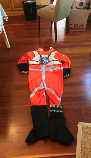 X wing costume pilot. Plastic helmet. for Sale in San Angelo, TX