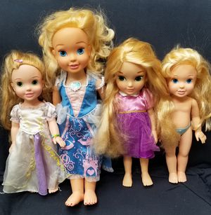 Disney Baby Cinderella & Rapunzel Dolls for Sale in Syosset, NY