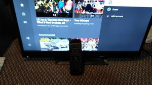 New Vizio smart TV flat screen LED all the apps are there for Sale in Oshkosh, WI