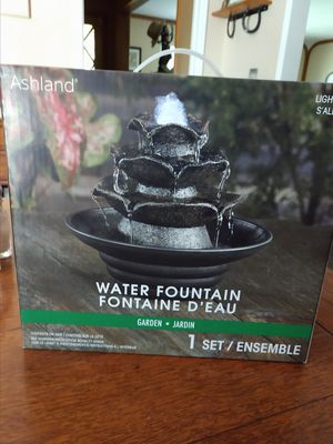 Indoor Water Fountain for Sale in Kingsburg, CA