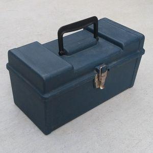 "13"" plastic portable handheld tool box and hardware storage bin for Sale in San Mateo, CA"