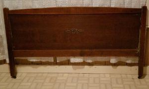 Antique headboard & footboard for Sale in San Angelo, TX