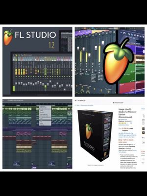 DeaL of the day fl studio 12 full version only install in windows laptops windows only $25 must bring laptop and start making beats like pro for Sale in Miami, FL