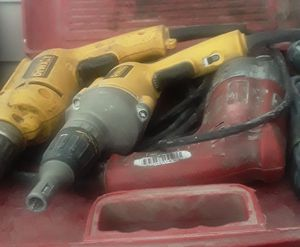 Nail and framing guns , sub pumps and alor more for Sale in Cleveland, OH