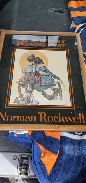 Norman rockwell picture for Sale in Tulalip, WA