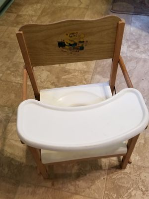 1950s vintage collapsible potty seat with plastic tray for Sale in Farmville, VA