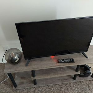 30 Inch Sharp Tv And Stand for Sale in Ypsilanti, MI