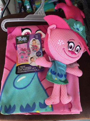 New troll towel and scrubby for Sale in Fort Worth, TX