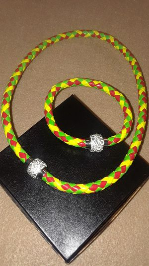 Leather Set with magnetic closure and rinestoned for Sale in Fort Pierce, FL