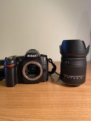 Nikon D80 10.2 MP DSLR Camera + Sigma 18-250mm Lens for Sale in Cordova, TN