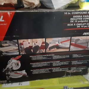 """Skil 3317-01 10"""" Quick Mount Miter Saw for Sale in Portsmouth, VA"""