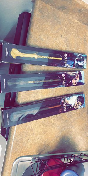 Harry potter wands for Sale in Raleigh, NC