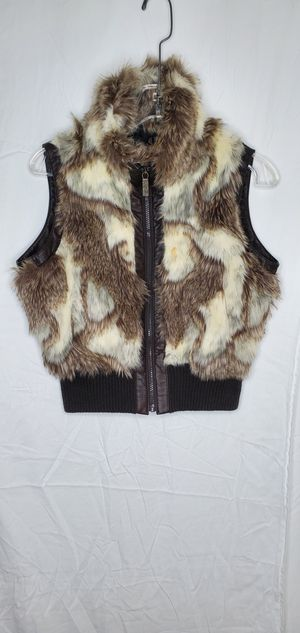 Big Chill Girls Faux Fur Vest for Sale in Shoreline, WA
