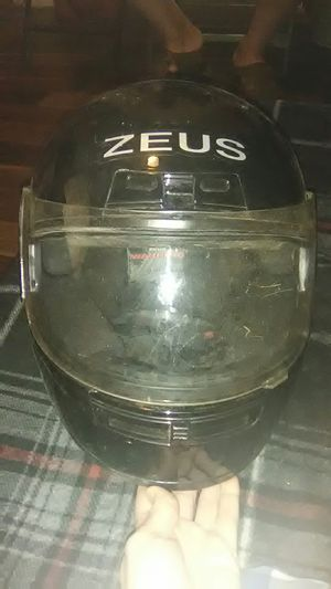 Zeus brand motorcycle helmet for Sale in Pryor, OK