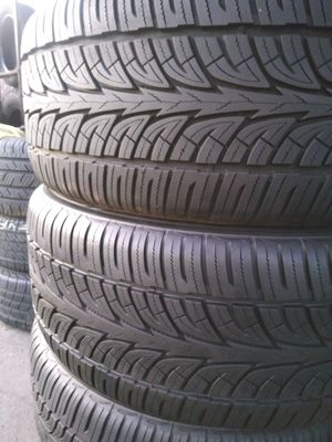 Tires Seminew Full Matching Set 305 40 22 for Sale in Spring Valley, CA