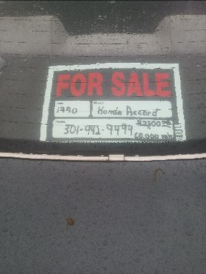 1990 Honda Accord Lx for Sale in Washington, DC