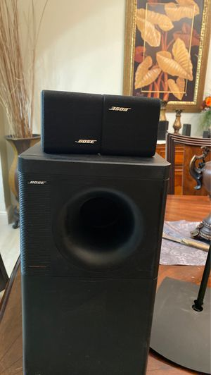 Bose speakers and subwoofer (2 stands included) for Sale in Kissimmee, FL