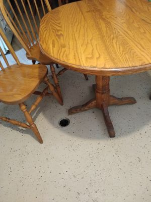 Amish kitchen table solid wood for Sale in Chicago, IL
