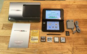 NEW NINTENDO 3DS XL XXL PLUS + GAMES + CHARGER for Sale in Fresno, CA