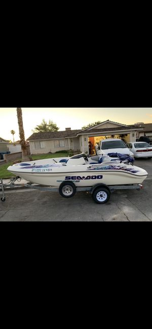 1999 Seadoo Sportster 1800, Twin Rotax 18' Jet Boat, trade for KTM for Sale in Las Vegas, NV