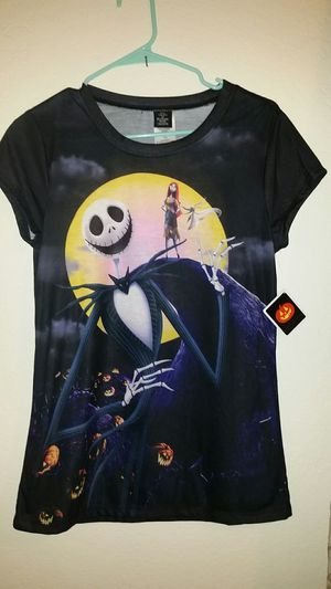 The Nightmare Before Christmas Exclusive Tee-Size: Juniors L/G (11-13). for Sale in Round Rock, TX