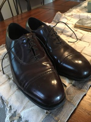 Raspberry brown leather shoes size 12 for Sale in Columbus, OH
