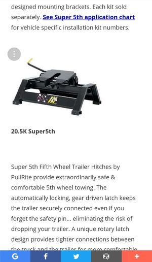 Super 5th Wheel for Sale in Bumpass, VA