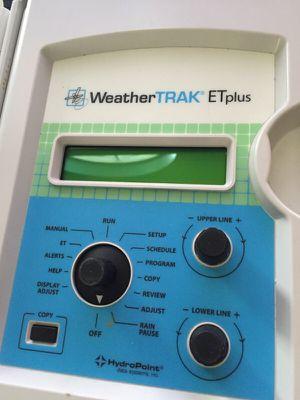 Sprinkler control - Weather Trak ET Plus for Sale in Denver, CO