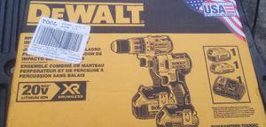 Dewalt 20v XR brushless hammer drill and impact kit for Sale in Tampa, FL