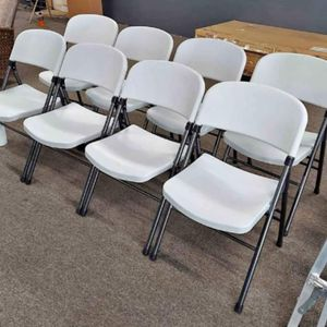 Folding Chairs BRAND NEW All 8 For $100 for Sale in Indianapolis, IN