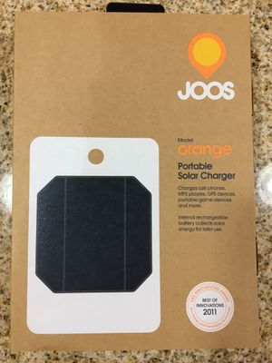 JOOS Portable Solar Charger for Sale in Suffolk, VA