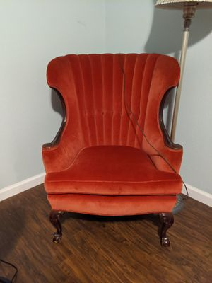 Antique wing back chair for Sale in Venice, FL