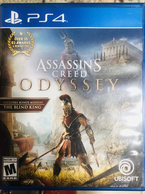 Assassins Creed Odyssey PS4 ** BRAND NEW ** for Sale in Yorba Linda, CA