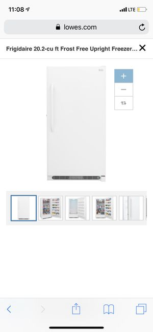 Frigidaire standup freezer for Sale in San Angelo, TX
